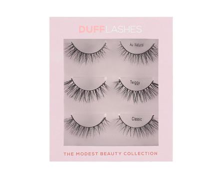 DUFFLashes The Modest Beauty 3-par