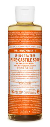 Dr. Bronner's Castile Soap Tea-Tree 240 ml