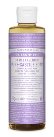 Dr. Bronner's Castile Soap Lavender 240 ml