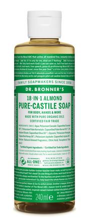Dr. Bronner's Castile Soap Almond 240 ml