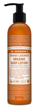 Dr. Bronner's Body Lotion Orange-Lavender 240 ml