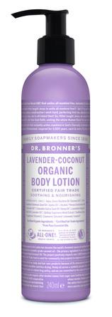 Dr. Bronner's Body Lotion Lavender-Coconut 240 ml