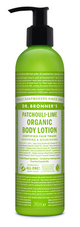 Dr. Bronner's Body Lotion Patschouli-Lime 240 ml