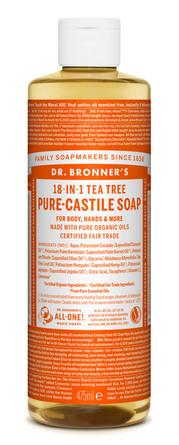 Dr. Bronner's Castile Soap Tea-Tree 475 ml