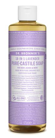 Dr. Bronner's Castile Soap Lavender 475 ml