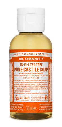 Dr. Bronner's Castile Soap Tea-Tree 60 ml