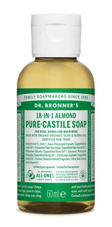 Dr. Bronner's Castile Soap Almond 60 ml