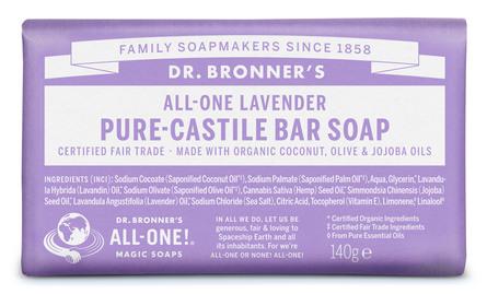 Dr. Bronner's Bar Soap Lavender