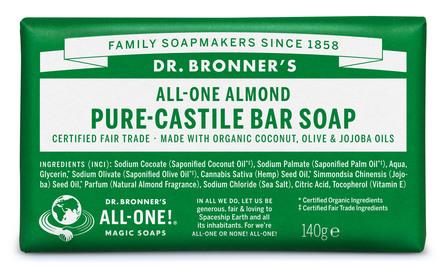 Dr. Bronner's Bar Soap Almond