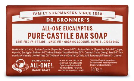 Dr. Bronner's Bar Soap Eucalyptus