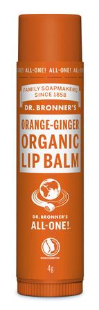 Dr. Bronner's Organic Lip Balm Orange - Ginger