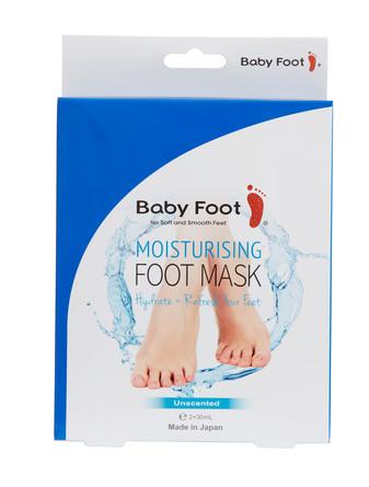 """Baby Foot Fodmaske """"Sokker"""" 2 stk + 6 stk tape"""