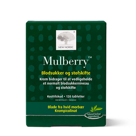 New Nordic Mulberry 120 tabl.
