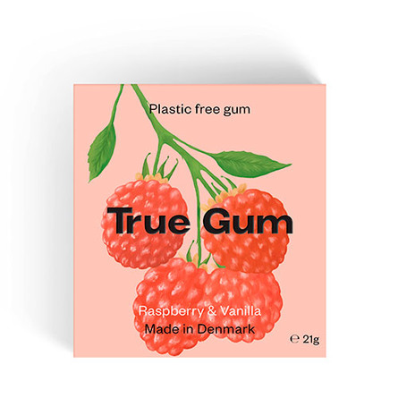 True Gum Raspberry & Vanilla 21 g.