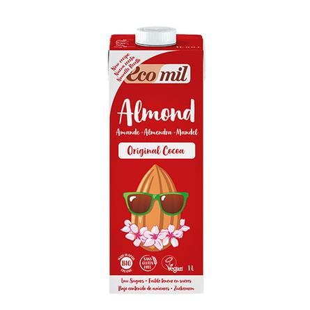 Mandeldrik m. kakao Ecomil Ø 1 l