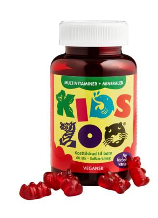Kids Zoo Multivitamin+Mineraler 60 stk.