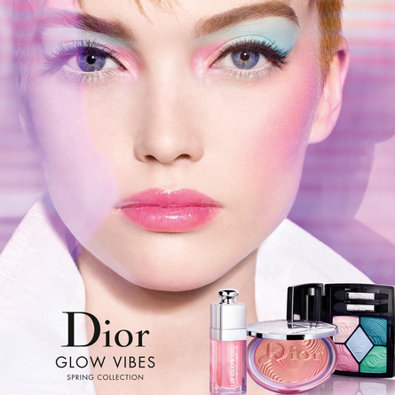 DIOR 5 COULEURS GLOW VIBES - LIMITED EDITION 167 Pink Vibration