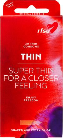 RFSU Thin kondomer 30 stk