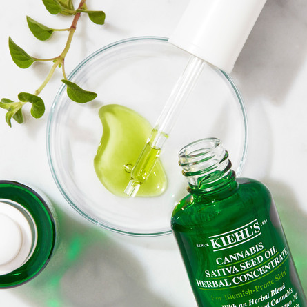 Kiehl's Cannabis Sativa Seed Oil Herbal Concentrate 30 ml