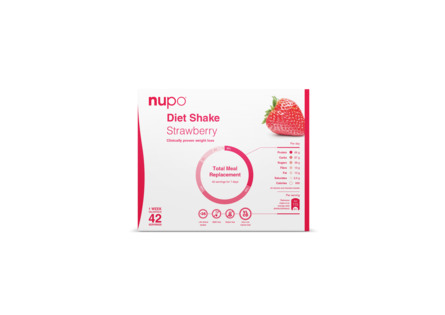 Nupo Diet Value Pack Strawberry 1344 gr.