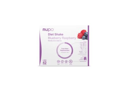 Nupo Diet Value Pack Blueberry/Raspberry 1344 gr.