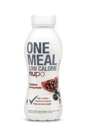 Nupo Ready to Drink Blueberry & Pomegranate 12 stk. af 330ml.  1 kasse