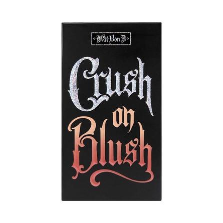 KVD Vegan Beauty Kitten Mini Crush On Blush Highlighter + Blush Duo Gammaray & Nova
