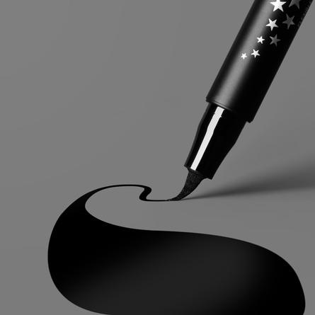 KVD Vegan Beauty Eyeliner Ultra Ink Liner Trooper Black