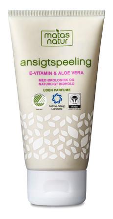 Matas Natur Aloe Vera & E-vitamin Ansigtspeeling 80 ml