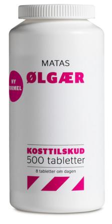 Matas Striber Ølgær 500 tabl.