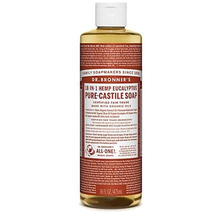Dr. Bronner's Castile Soap Eucalyptus 475 ml
