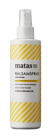 Matas Striber Balsamspray til Tørt og Beskadiget Hår Uden Parfume 200 ml