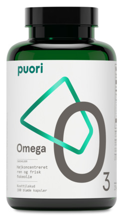 Omega-3 O3 Puori 180 kaps.