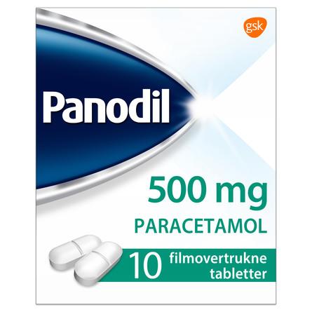 Panodil 500 mg 10 tabl.