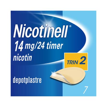 Nicotinell Plaster 14 mg 7 stk