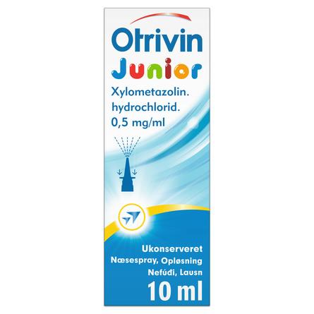 Otrivin Junior ukonserveret næsespray 0,5 mg 10 ml