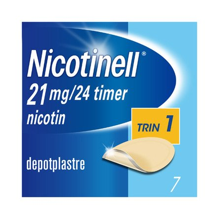 Nicotinell Plaster 21 mg 7 stk