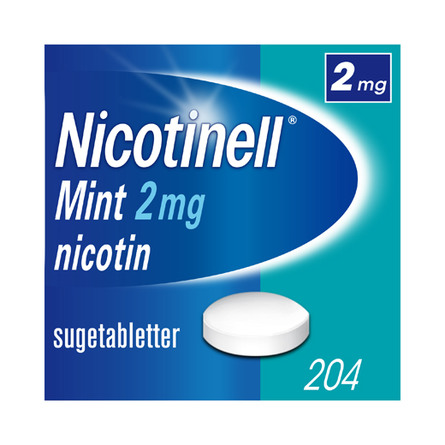 Nicotinell Sugetablet 2 mg 204 stk