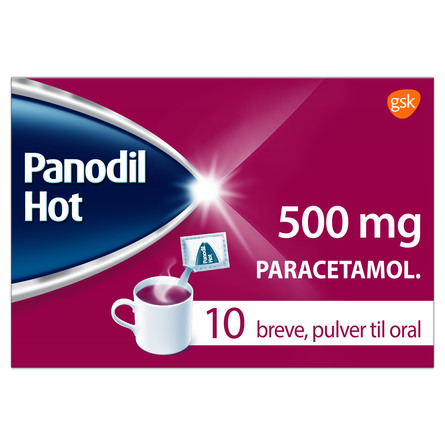 Panodil Hot 500 mg 10 breve