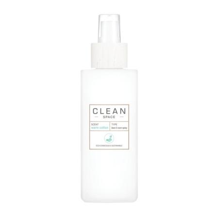 Clean Space Warm Cotton Linen & Room Spray 148 ml