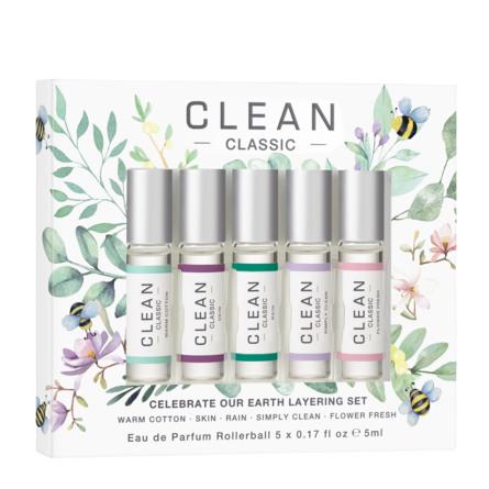 Clean Earth Days 50-års Jubilæum Eau de Parfum Gaveæske 5 x 5 ml
