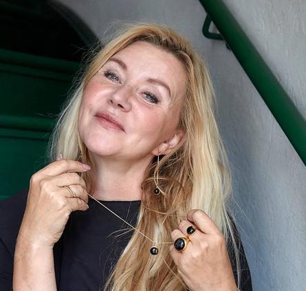 Livets Smykke Tro halskæde kort Sølv - Rosa Kvarts