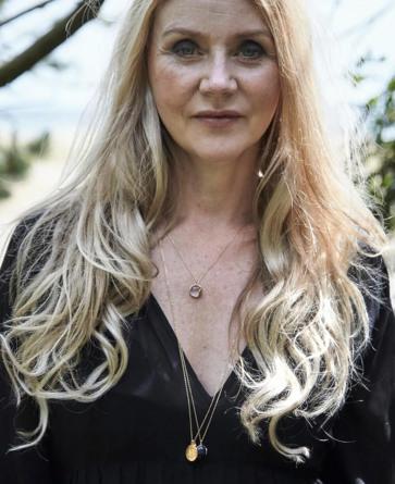 Livets Smykke Livsvalg Halskæde Lang Sølv - Rosa Kvarts