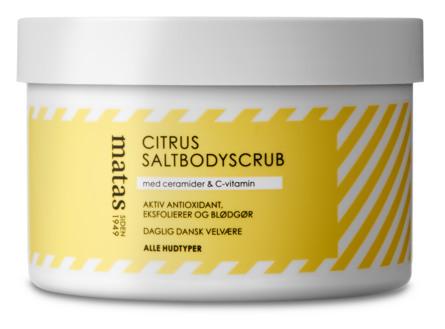 Matas Striber Citrus Saltbodyscrub 250 g