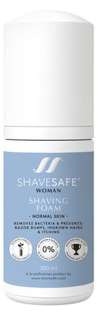 ShaveSafe Barberskum Normal 100 ml.