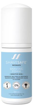 ShaveSafe Barberskum Sensitiv 100 ml.