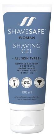 ShaveSafe Barbergel 100 ml.