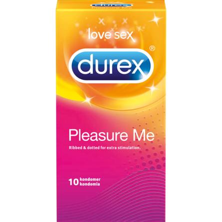 Durex Pleasure Me 10 stk