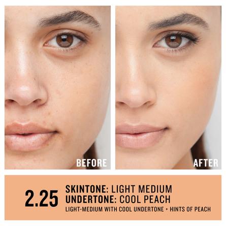 Smashbox Studio Skin 24H Wear Hydrating Foundation 2.25 Light-Medium With Cool Undertone + Hints Of Peach