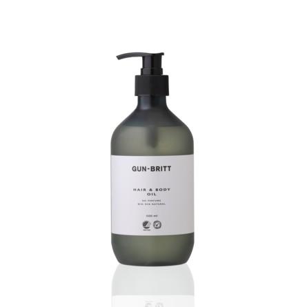 Gun-Britt Fugtgivende Hair & Body Oil 500 ml.